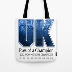 Eyes of a Champion Tote Bag