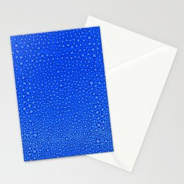Wild Thing Cool Blue Leopard Print Stationery Cards