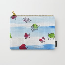 Ocean Fish Carry-All Pouch