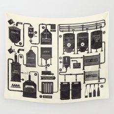 Brewing Wall Tapestry