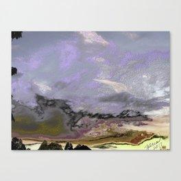 MySkyISpurple Canvas Print