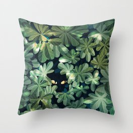 Where´s the kitty? Throw Pillow