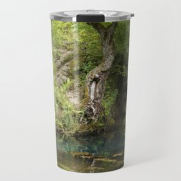 River spring in the forest Travel Mug