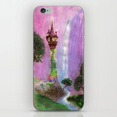 The Mystical Tower iPhone & iPod Skin