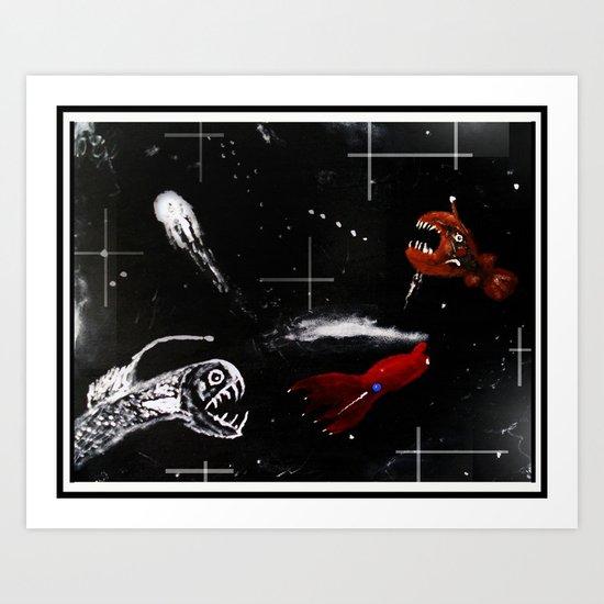 The Deep Abyss Art Print