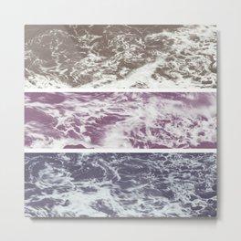 Saltwater tryptych Var I Metal Print