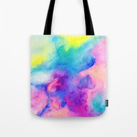 bible verses Tote Bags featuring Love and Some Verses by Jacqueline Maldonado