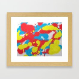 Splat! Framed Art Print