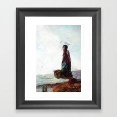 Meet Me at the End of the Bridge 2 Framed Art Print