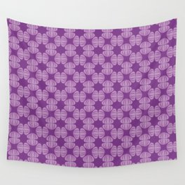 Purple Urchins Wall Tapestry