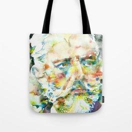 PYOTR ILYICH TCHAIKOVSKY - watercolor portrait Tote Bag