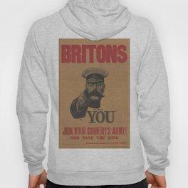 Vintage poster - British Military Hoody