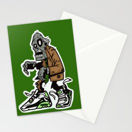 Zombie Keeps Em' Clean Stationery Cards