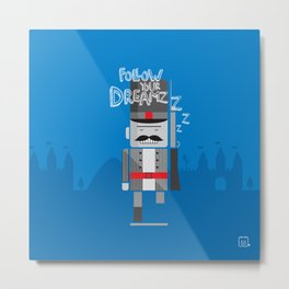 tin soldier Metal Print