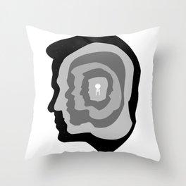 Star Trek Head Silhouettes Throw Pillow