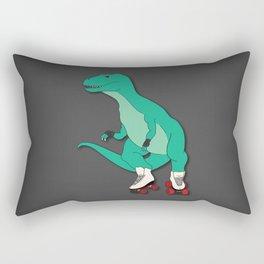 Tyrollersaurus Rex Rectangular Pillow