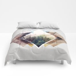 Mystic forest Comforters