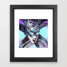 Venetian Masquerade Framed Art Print