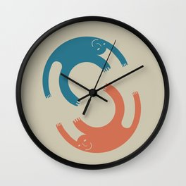Me and me (designer) Wall Clock