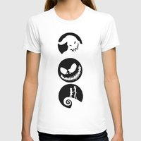 nightmare before christmas T-shirts featuring Nightmare Before Christmas by Linda V.