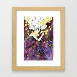 I Dreamt of a Universe Framed Art Print