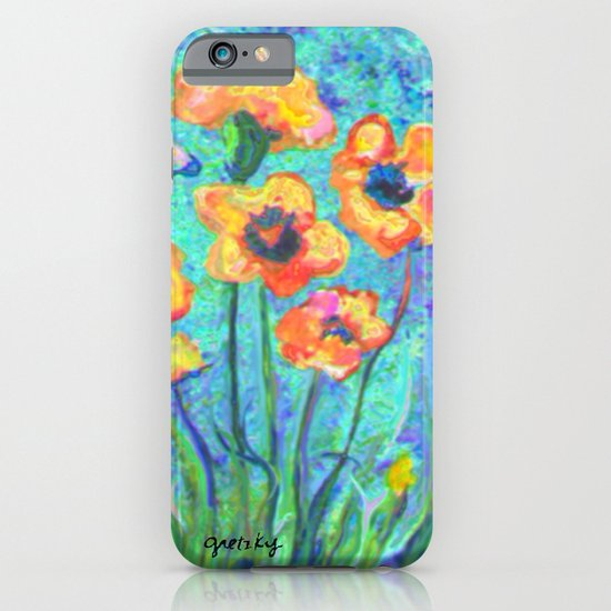 Pansies iPhone & iPod Case