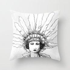 1920s Circus Dancer Throw Pillow