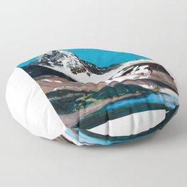 Mt. Assiniboine Floor Pillow