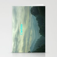 north carolina Stationery Cards featuring Carolina by Chuck Buckner