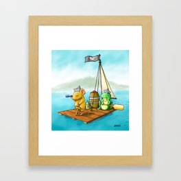 The Adventure Framed Art Print