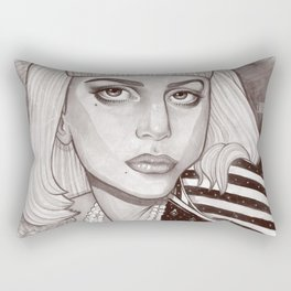 Fame is in your heart Rectangular Pillow