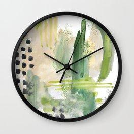 Mossy Design Wall Clock