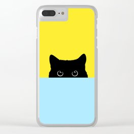 Kitty Clear iPhone Case