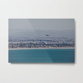 California Helicopter Metal Print