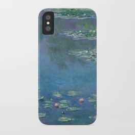 Water Lilies, Claude Monet,1840-1926 iPhone Case