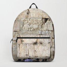 Jerusalem - The Western Wall - Kotel #4 Backpack