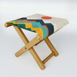 The hills are alive Folding Stool