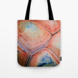 Shell Topography Tote Bag