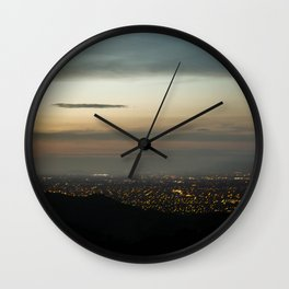 san jose city Wall Clock