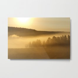 Suncloud Metal Print
