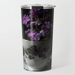 Botanical Tea Cup Travel Mug