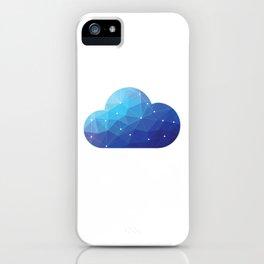 Cloud Of Data iPhone Case
