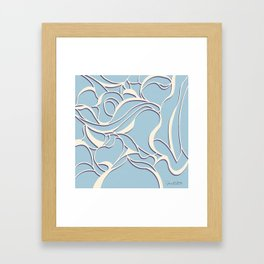 Calla Lilly Sky Blue | Joann Sondy Framed Art Print