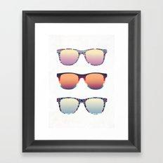 PUT YOUR GLASSES ON ...  Framed Art Print