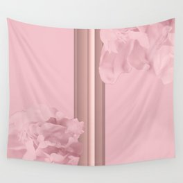 Rose Colored Peony Petals On Pink Gold No2 #decor #society6 #buyart Wall Tapestry