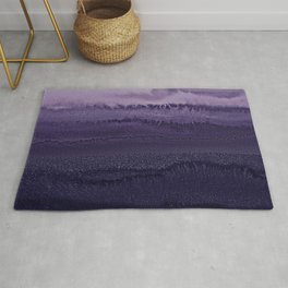 WITHIN THE TIDES ULTRA VIOLET by Monika Strigel Rug