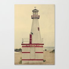 New Buffalo Lighthouse Canvas Print