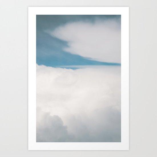 Clouds 4 Art Print