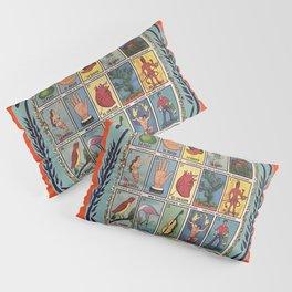 Mexican Bingo Loteria Pillow Sham