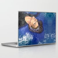 clear Laptop & iPad Skins featuring CLEAR by Dash of noir